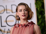 AMBER HEARD @ the 73rd Annual Golden Globe awards held @ the Beverly Hilton hotel.<br /> ©Exclusivepix Media