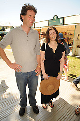 Th 2010 Royal Horticultural Society Chelsea Flower show in the grounds of Royal Hospital Chelsea, London on 24th May 2010.<br /> <br /> Picture shows:-TOM STUART-SMITH and NIGELLA LAWSON