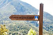Fuerte de Sta Elena (The fort at Santa Elena), Pyrenees Mountains, Huesca province, Aragon, Spain
