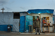 37 year-old Raad Habib has been living in the Christian refugee camp in Ankawa, Erbil since 2014. Originally from Baghdad, he was living in Qaraqosh since 2006. He fled Qaraqosh because of the Islamic State's advance in August, 2014. Habib owns this shop for six months.