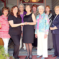 CHUQUANTONCHEE CHAPTER DAR OFFICERS<br /> (Floyd Ingram / Buy at photos.chickasawjournal.com)<br /> The Chuquantonchee Chapter of the Daughter's of the American Revolution recently named 2016-17 officers. Shown are, front from left, Pam Carson Second Vice Regent, Dr. Teena Horn Immediate Past Regent, Jan Dyson Regent, Ann Marshall First Vice Regent and Ruth &quot;Chick&quot; Carter Chaplain. Second row from left are Marion Fox Historian, Melva Gann Registrar and Pat Ponds Treasurer.