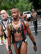 June 12, 2010 - Washington, District of Columbia, U.S., - The lesbian, gay, bisexual and transgender community in the nation's capital  showed off its pride in the annual parade during the Capitol Pride Festival.  (Credit Image: © Pete Marovich/ZUMA Press)