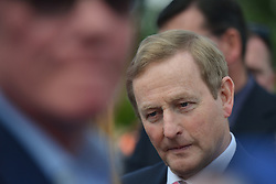 June 2, 2017 - Dublin, Ireland - The Irish Taoiseach Enda Kenny (Center), seen at Bloom Festival, Ireland's Largest Garden Festival, speaks with people, during one of his final public apparences as a Taoiseach..On Friday, June 2, 2017, in Dublin, Ireland. (Credit Image: © Artur Widak/NurPhoto via ZUMA Press)