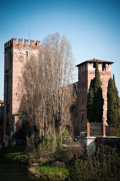 Castelvecchio (old castle) in Verona, Italy
