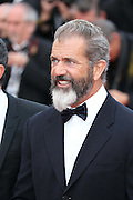 May 18, 2014 - Cannes, California, France -<br /> <br /> Mel Gibson attends the premiere of ''Expandables 3 during the 67th Cannes International Film Festival at Palais des Festivals in Cannes, France<br /> ©Exclusivepix