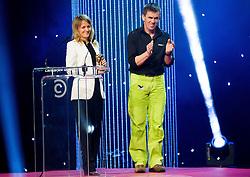 Natasa Cagalj and Davor Karnicar at Slovenian Sports personality of the year 2013 annual awards presented on the base of Slovenian sports reporters, on December 19, 2013 in Cankarjev dom, Ljubljana, Slovenia.  Photo by Vid Ponikvar / Sportida