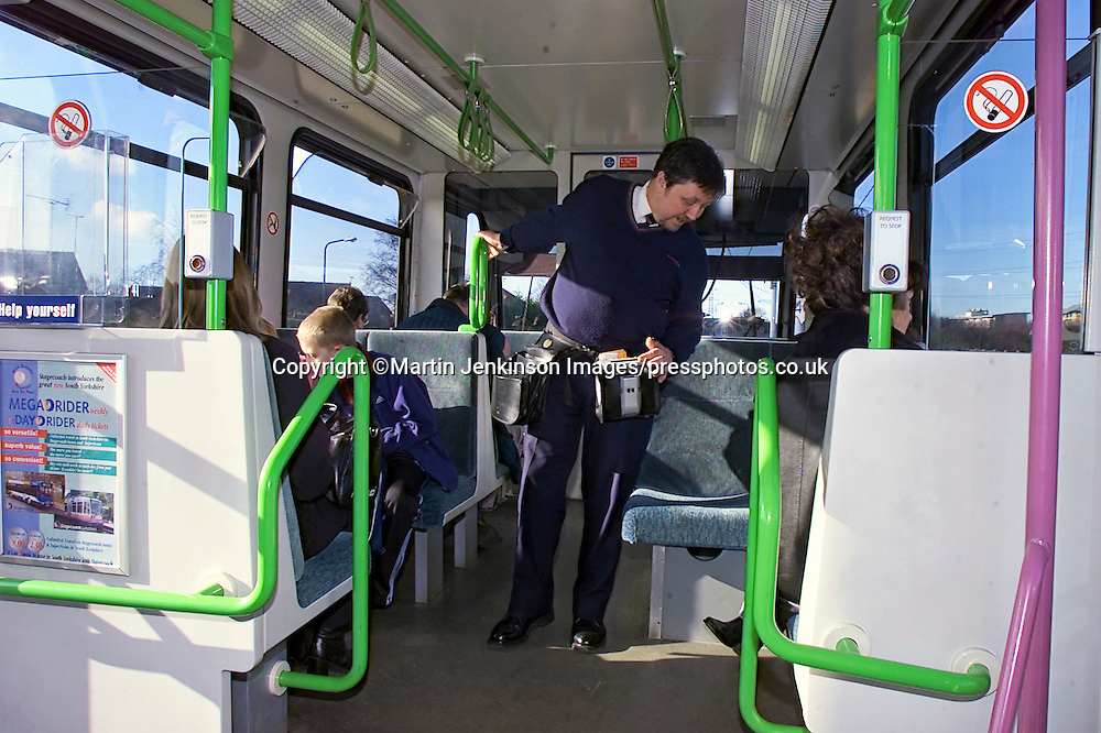 Supertram Conductor Mick Agus.