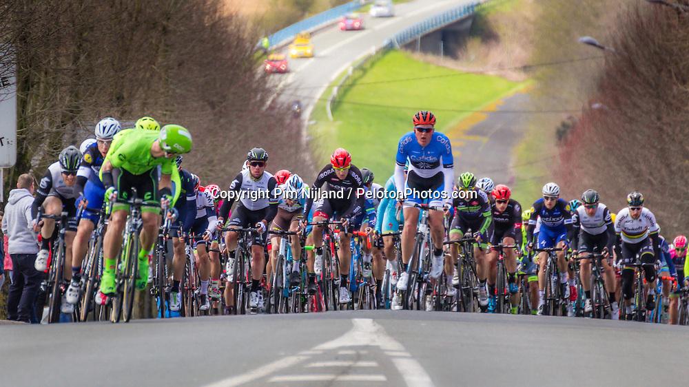Peloton,114th Paris - Roubaix (UCI Worldtour), Saint-Quentin, France, 10 April 2016, Photo by Pim Nijland / PelotonPhotos.com