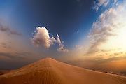 Dune and Cloud - Arabian Desert, U.A.E.