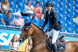 VON ECKERMANN Henrik (SWE), Flotte Deern 5<br /> Aachen - CHIO 2018<br /> Preis von Nordrhein-Westfalen<br /> 20. Juli 2018<br /> © www.sportfotos-lafrentz.de/Stefan Lafrentz