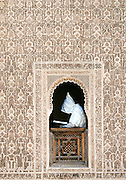 Study of the Koran in a Medersa, Marrakesh,Morocco