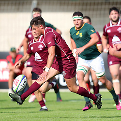 Tedo Abzhandadze of Georgia during the U20 World Championship match between South Africa and Georgia on May 30, 2018 in Perpignan, France. (Photo by Manuel Blondeau/Icon Sport)