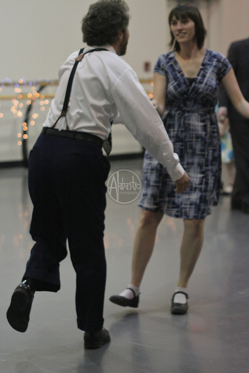 Doing the Lindy Hop at the PNB Winter Wonderland Ball 2010