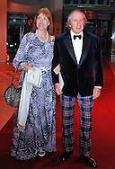 """SIR JACKIE STEWART AND WIFE HELEN.attend the Monaco Formula One Grand Prix Gala Dinner at Sporting Monaco, Monte Carlo_May 27, 2012.Mandatory Credit Photos: ©NEWSPIX INTERNATIONAL..**ALL FEES PAYABLE TO: """"NEWSPIX INTERNATIONAL""""**..PHOTO CREDIT MANDATORY!!: NEWSPIX INTERNATIONAL(Failure to credit will incur a surcharge of 100% of reproduction fees)..IMMEDIATE CONFIRMATION OF USAGE REQUIRED:.Newspix International, 31 Chinnery Hill, Bishop's Stortford, ENGLAND CM23 3PS.Tel:+441279 324672  ; Fax: +441279656877.Mobile:  0777568 1153.e-mail: info@newspixinternational.co.uk"""