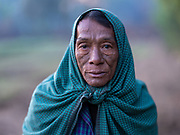 Khin mg Myint, farmer, 59 years old with 9 children, Yenangyaung, Bagan, Myanmar