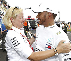June 23, 2018 - Le Castellet, France - Motorsports: FIA Formula One World Championship 2018, Grand Prix of France, ..Britta Seeger, #44 Lewis Hamilton (GBR, Mercedes AMG Petronas Motorsport) (Credit Image: © Hoch Zwei via ZUMA Wire)