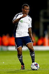 Andre Wisdom of West Brom in action - Photo mandatory by-line: Rogan Thomson/JMP - 07966 386802 - 26/08/2014 - SPORT - FOOTBALL - The Hawthorns, West Bromwich - West Bromwich Albion v Oxford United - Capital One Cup Round 2.