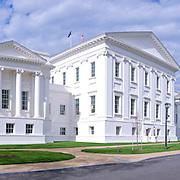 Virginia State Capitol in Richmond, Virginia. High resolution panorama.