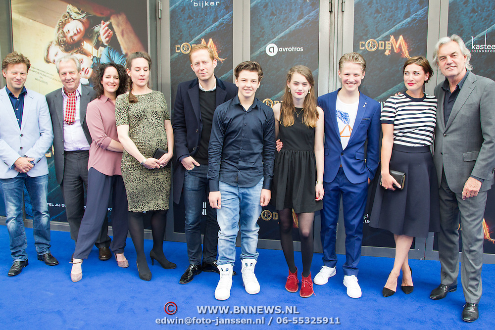 NLD/Amsterdam/20150620- Filmpremiere Code M, Cast