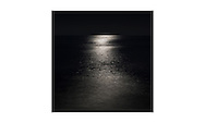 Moonlit summer seascape