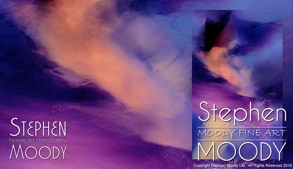 Radiance - Abstract Art of the Female Form created by artist Stephen Moody of Scottsdale, AZ.  Large wall art for businesses, hospitality industry, interior designers and individual collectors.
