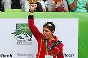 Monica Theodorescu <br /> Alltech FEI World Equestrian Games™ 2014 - Normandy, France.<br /> © DigiShots