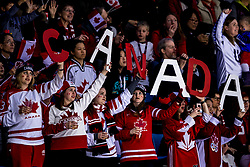 22-02-2018 KOR: Olympic Games day 13, PyeongChang<br /> Final Ice Hockey Canada - USA 2-3 / support, fans, publiek