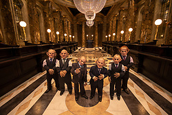 Goblins at the opening of the new Gringotts Wizarding Bank expansion at the Making Of Harry Potter attraction at the Warner Bros Studio Tour, in Watford.