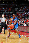 COLUMBUS, OH - NOVEMBER 15: Brad Beal #23 of the Florida Gators passes the ball during the game against the Ohio State Buckeyes at Value City Arena on November 15, 2011 in Columbus, Ohio. Ohio State won 81-74. (Photo by Joe Robbins) *** Local Caption *** Brad Beal