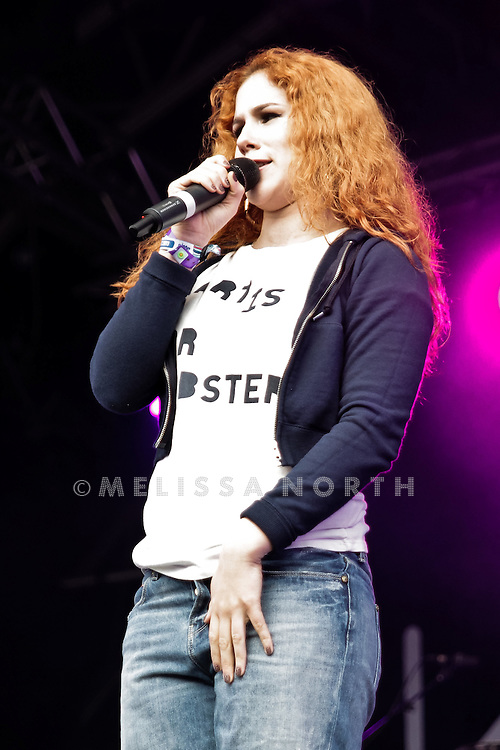 Katy B performs at Camp Bestival on 31 July 2011 in Lulworth. Photo by mMlissa North