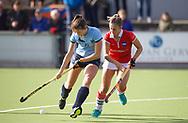 NIJMEGEN - 2017 Hoofdklasse dames<br /> Nijmegen v Hurley<br /> Foto: Michelle Simons.<br /> WORLDSPORTPICS COPYRIGHT FRANK UIJLENBROEK