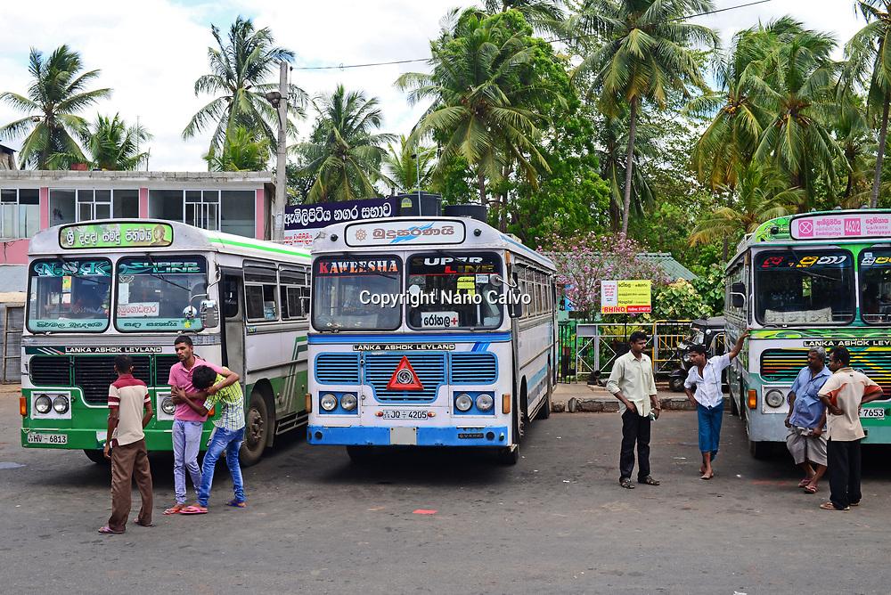 Embilipitiya bus station, Sri Lanka