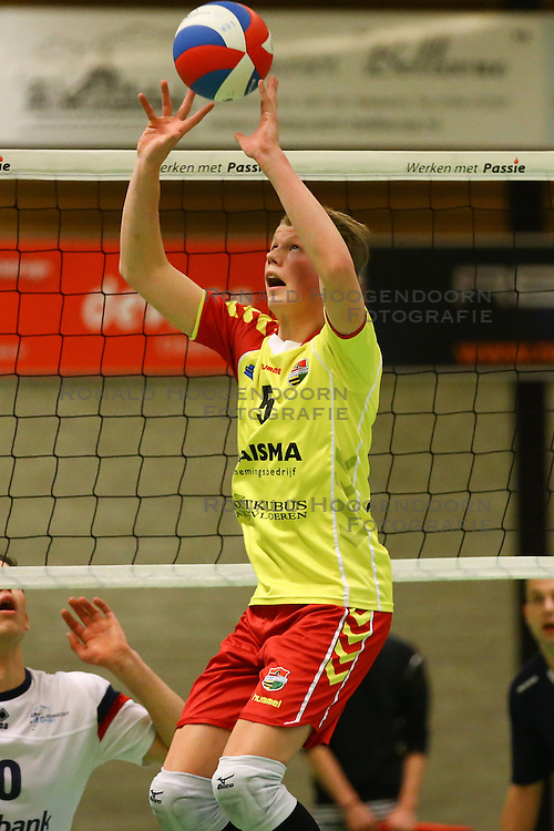 20160326 NED: Volleybal: Sliedrecht Sport - SV Dynamo 2, Sliedrecht  <br />Ruben de Vries