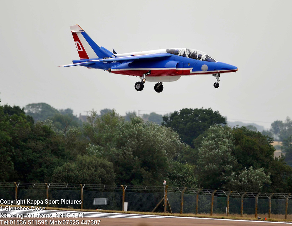 Patrouille De France, Dassult/Dornier Alpha Jet ES, Royal International Air Tattoo, RAF Fairford Gloustershire, Friday 17th July 2015Royal International Air Tattoo, RAF Fairford Glos, Friday 17th July 2015Royal International Air Tattoo, RAF Fairford, Gloustershire, 16th July 2015 Royal International Air Tattoo, RAF Fairford, Glostershire, 16th July 2015