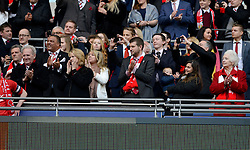 Bristol City director congratulate the team  - Photo mandatory by-line: Joe Meredith/JMP - Mobile: 07966 386802 - 22/03/2015 - SPORT - Football - London - Wembley Stadium - Bristol City v Walsall - Johnstone Paint Trophy Final