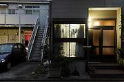 individual house next to a apartment complex Japan Yokosuka