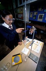 Science class, secondary school UK
