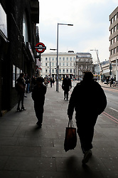 UK ENGLAND LONDON 25MAR14 - Pedestrians on Tooley Street at London Bridge Station, London.<br /> <br /> jre/Photo by Jiri Rezac<br /> <br /> © Jiri Rezac 2014