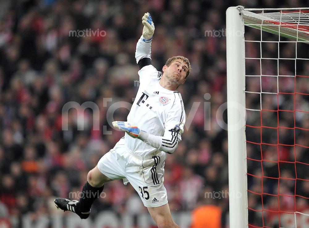 FUSSBALL   CHAMPIONS LEAGUE   SAISON 2010/2011 Achtelfinale 15.03.2011 FC Bayern Muenchen - Inter Mailand Thomas Kraft (FC Bayern Muenchen)