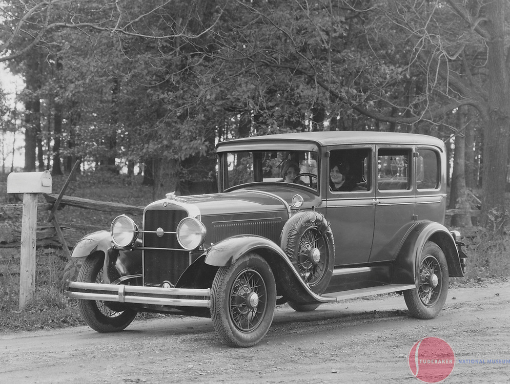 A 1929 Studebaker Commander FD Regal sedan.