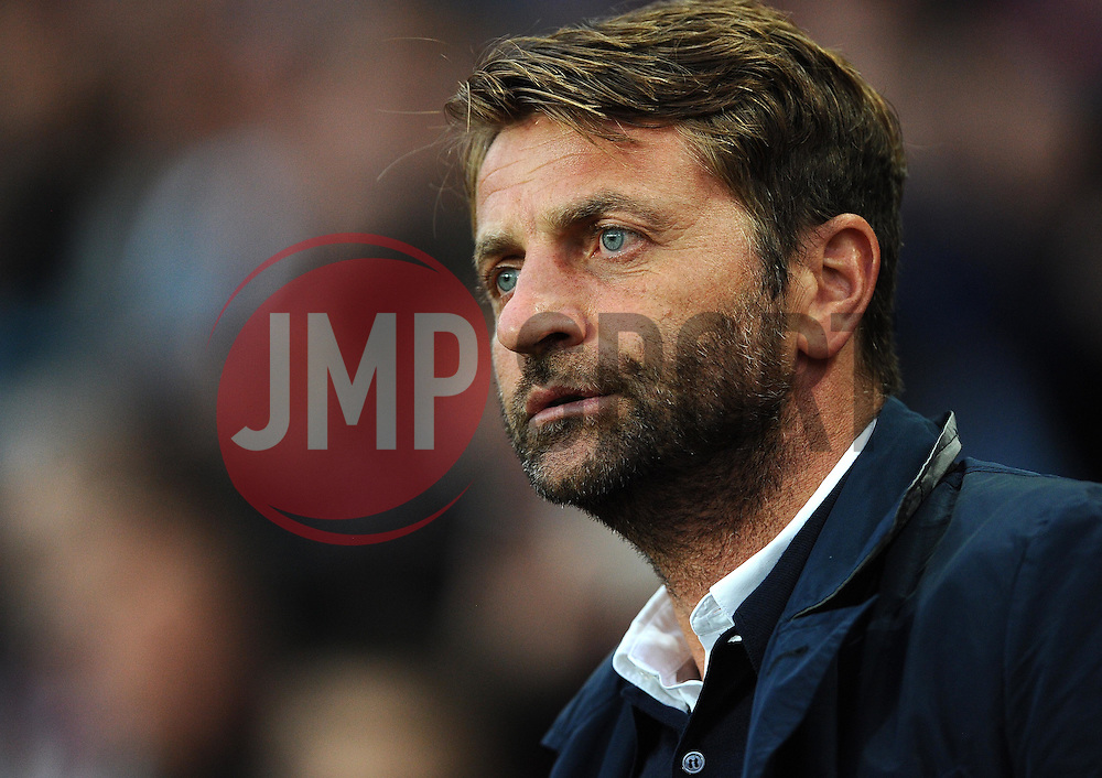 Aston Villa Manager Tim Sherwood  - Mandatory byline: Joe Meredith/JMP - 07966386802 - 25/08/2015 - FOOTBALL - Villa Park -Birmingham,England - Aston Villa v Notts County - Capital One Cup - Second Round