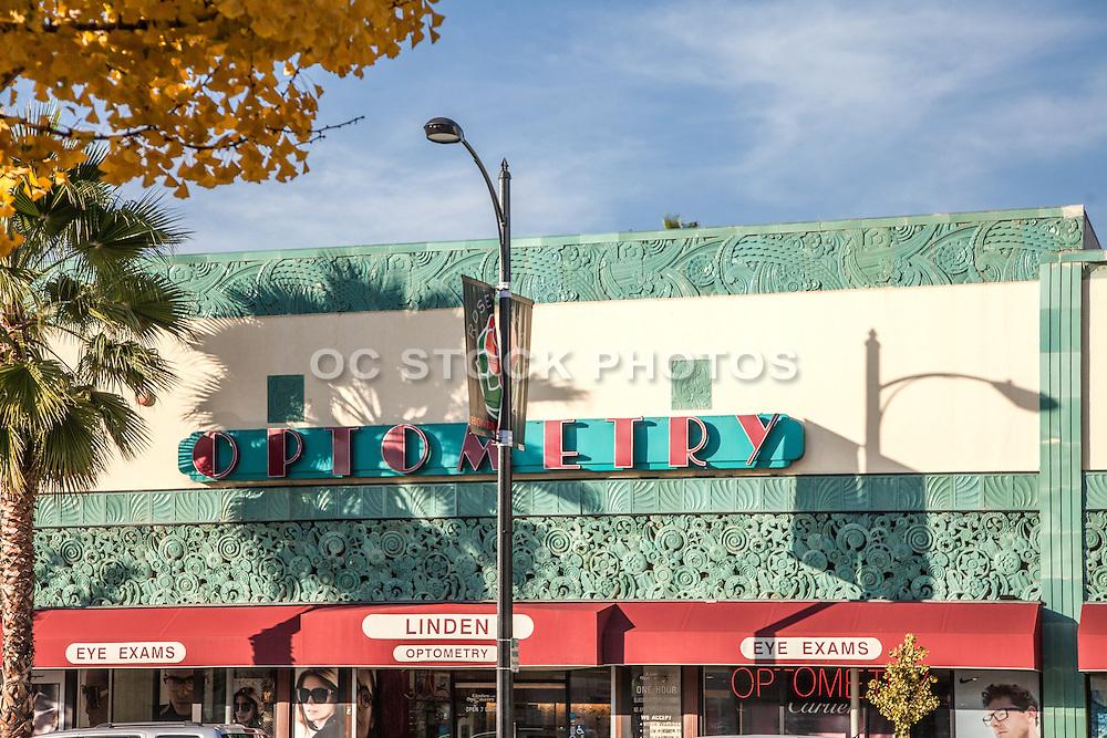 Linden Optometry Building Pasadena