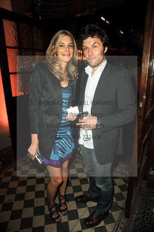 KIM HERSOV and BARRY REIGATE at 'Superficial Butterfly' a party hosted by Amanda Eliasch to celebrate her 50th birthday held at Number One Mayfair (St Marks Church) North Audley Street, London on 12th May 2010.
