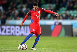 Jesse Lingard of England shoots at goal - Mandatory by-line: Robbie Stephenson/JMP - 11/10/2016 - FOOTBALL - RSC Stozice - Ljubljana, England - Slovenia v England - World Cup European Qualifier