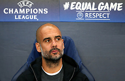 Manchester City manager Pep Guardiola - Mandatory by-line: Matt McNulty/JMP - 26/09/2017 - FOOTBALL - Etihad Stadium - Manchester, England - Manchester City v Shakhtar Donetsk - UEFA Champions League Group stage - Group F