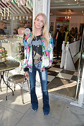 LADY MARY CHARTERIS at a party to launch Biscuiteers Fashion Biscuit Collection inspired by Alice Naylor-Leyland's wardrobe held at Biscuiteers, 194 Kensington Park Road, London W11 on 23rd June 2015.