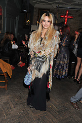 ZARA MARTIN at a carnival themed party hosted by Stacey Bendet for the Alice & Olivia fashion label at Paradise, Kensal Green, London on 9th November 2011