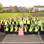 04.04.2017              <br /> Ard Scoil Mhuire, Corbally were out in force doing their bit for TLC3. Picture: Michael Andrews