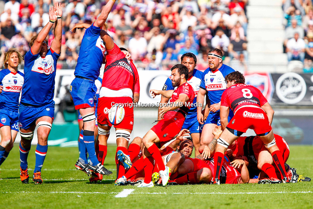 Eric ESCANDE  - 11.04.2015 - Grenoble / Toulon  - 22eme journee de Top 14 <br />