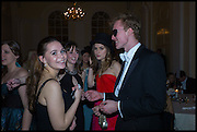 SALLY CACTUS;  TOM HUMPHREY;  Oxford University Polo club Ball, Blenheim Palace. Woodstock. 6 March 2015
